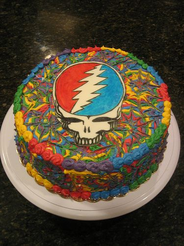 grateful dead happy birthday ; grateful-dead-birthday-cake-fare-thee-well-tour-google-search-deadly-pinterest-best