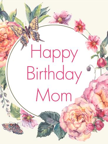 greeting card happy birthday to mom ; b_day_fmo13-669747d1a92af4dfcec382a2e7176ca8