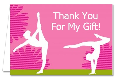 gymnastics birthday card ; gymnastics_thank_you_card