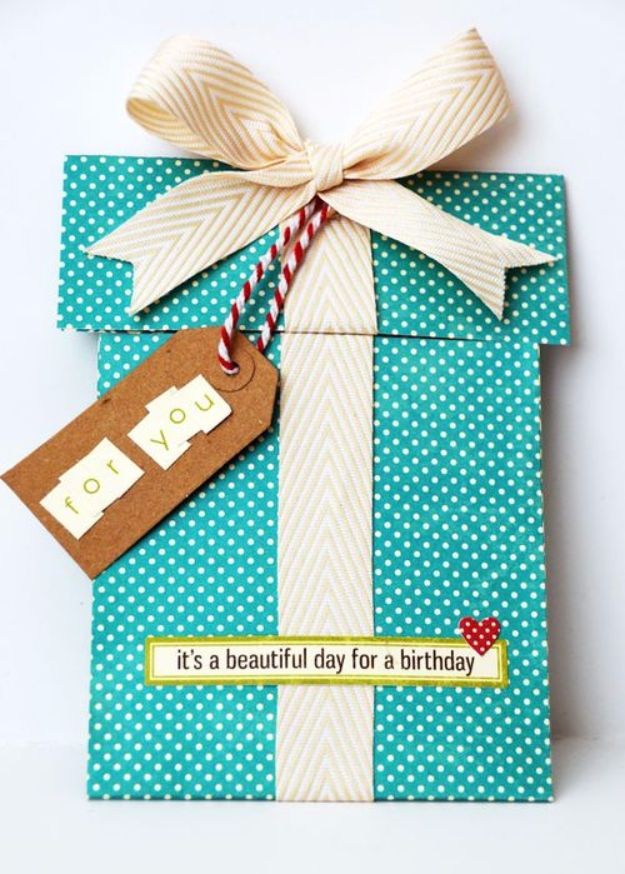 handmade birthday card ideas ; Scrapbook-Birthday-Card
