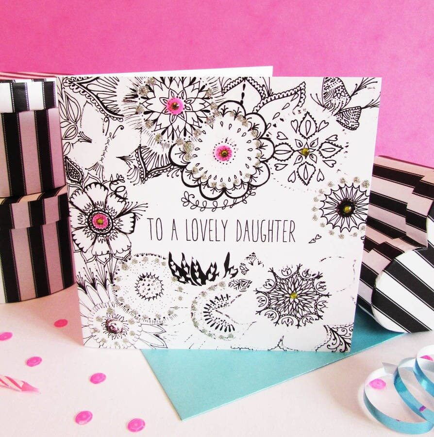 handmade birthday card ideas for mom ; Fays-Studio-Daughter-Card