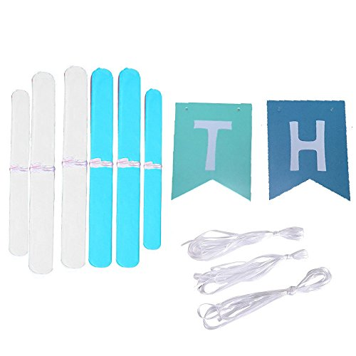 hanging birthday banner ; Happy-Birthday-Banner-Bunting-Kit-Wartoon-Paper-Pom-Poms-flowers-Ball-with-Hanging-Party-Decorations-Banner-flags-for-Birthday-Party-Decorations-Blue-0-0