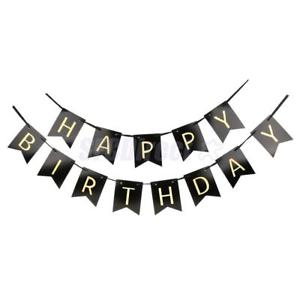 hanging birthday banner ; s-l300