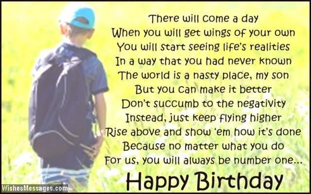 happy 13th birthday to my son ; Sweet-birthday-card-poem-to-son-from-mom-and-dad