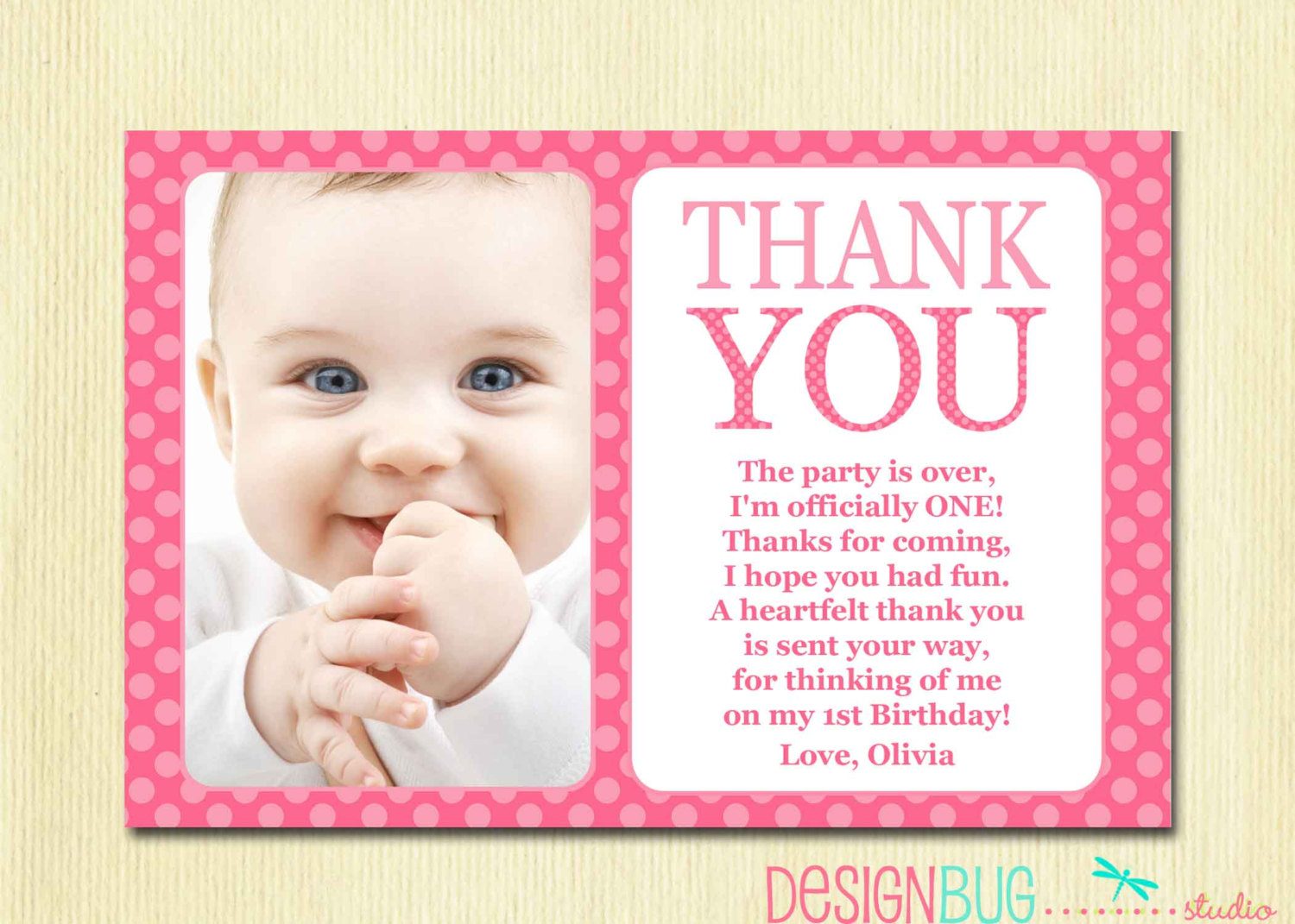 happy 1st birthday card wording ; First-Birthday-Thank-You-Inspirational-Thank-You-Birthday-Cards