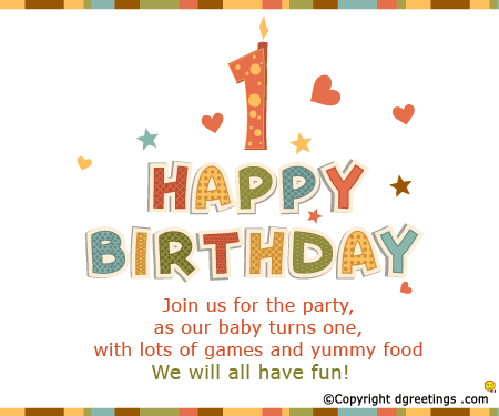 happy 1st birthday card wording ; birthday-1stinvitation25