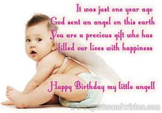 happy 1st birthday message for daughter ; 191138530963573bb15df49312f1179b