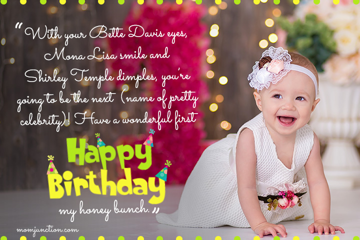 happy 1st birthday message for daughter ; 1st-Birthday-Wishes-For-Daughter5