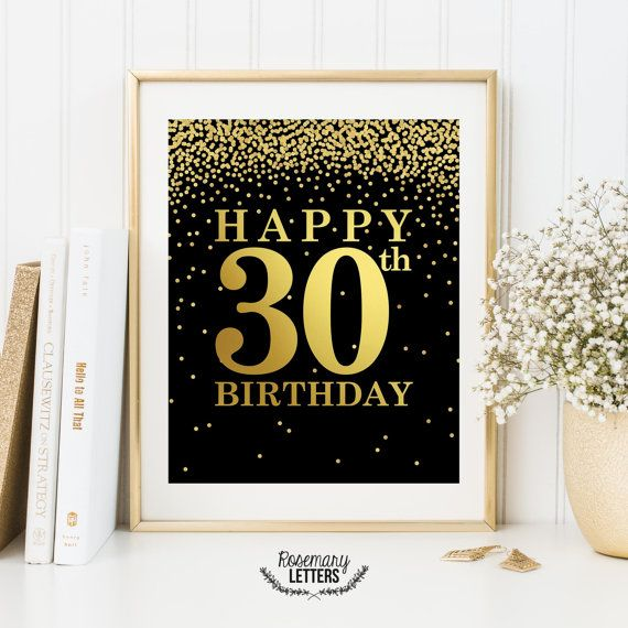 happy 30th birthday banner template ; 21a7171775ef780a11633a39645431a7