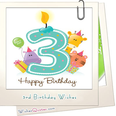happy 3rd birthday message to my son ; 3rd-Birthday-Wishes-featured