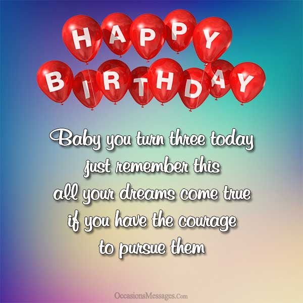 happy 3rd birthday message to my son ; Happy-3rd-birthday-messages
