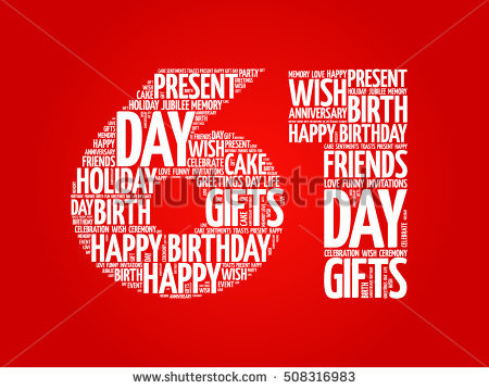 happy 61st birthday ; stock-vector-happy-st-birthday-word-cloud-collage-concept-508316983