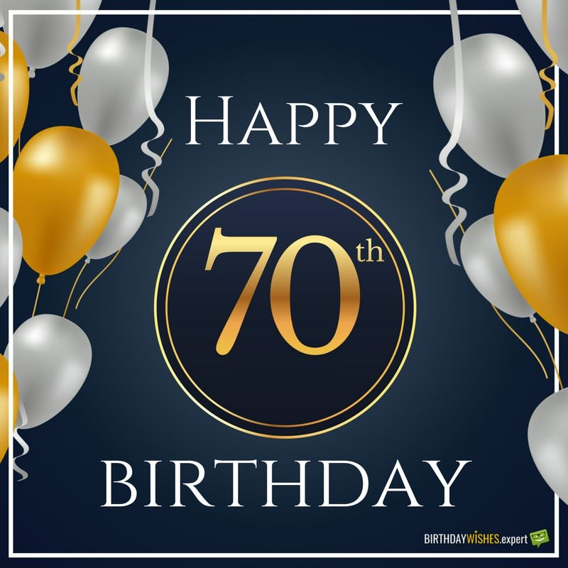 happy 70th birthday ; Happy-70th-birthday