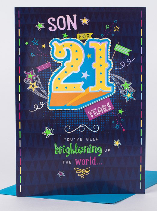 happy birthday 21 years old card ; 21st-birthday-card-for-son