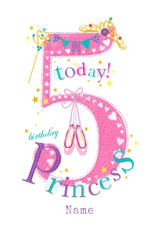 happy birthday 5 year old ; Customisecards-Aspx-Fancy-Birthday-Cards-For-5-Year-Olds