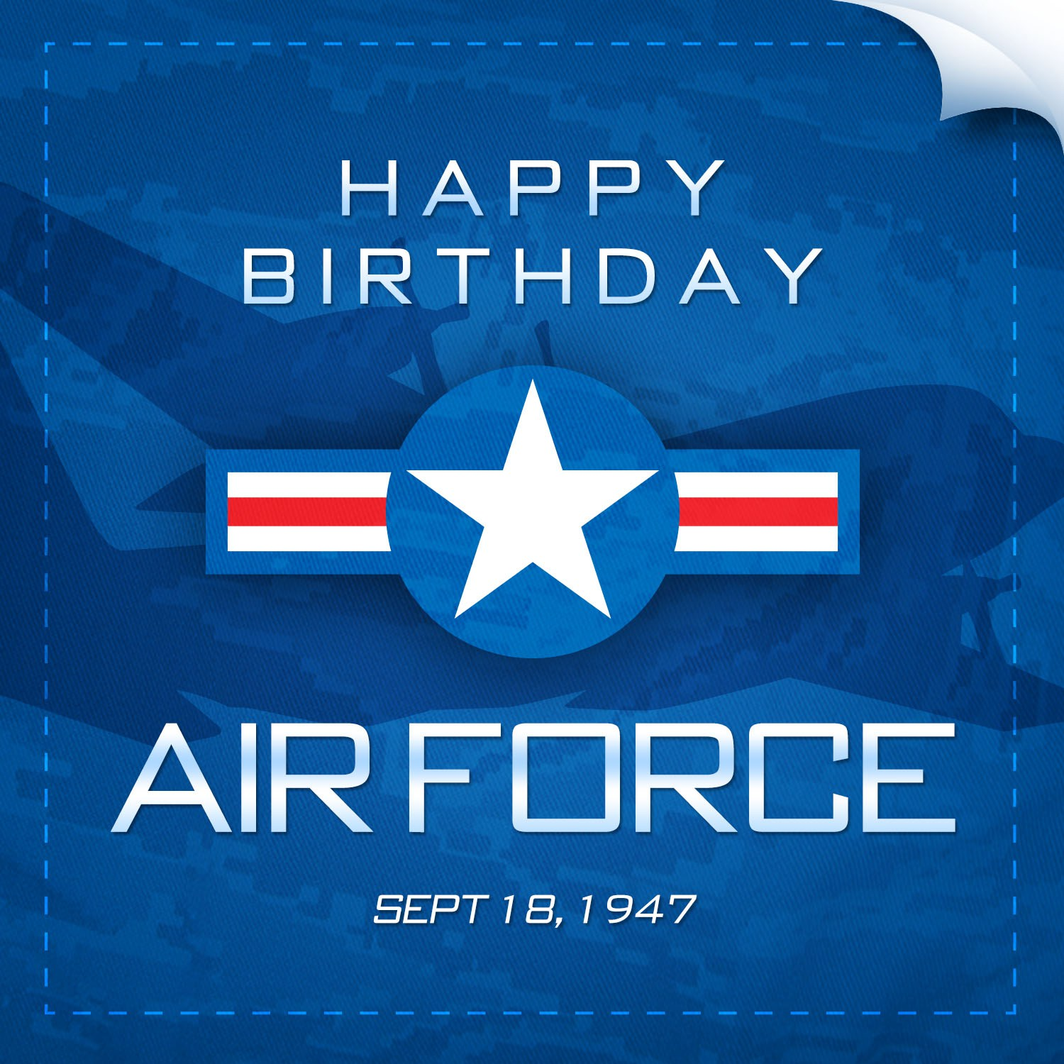 happy birthday air force ; 150917-F-UT715-001