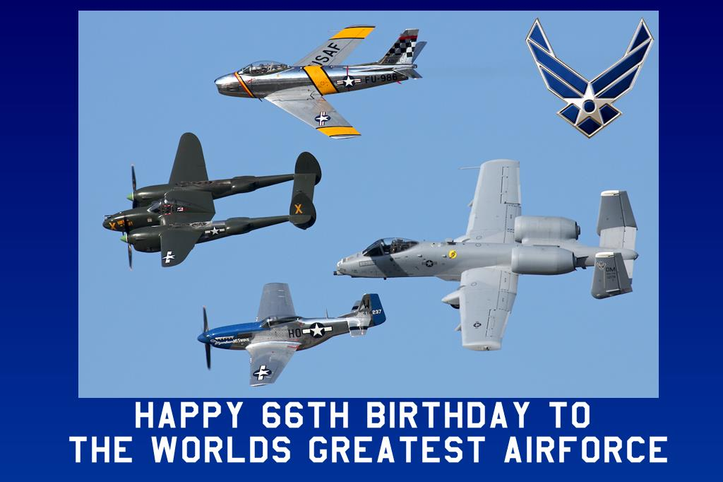 happy birthday air force ; USAF-Birthday