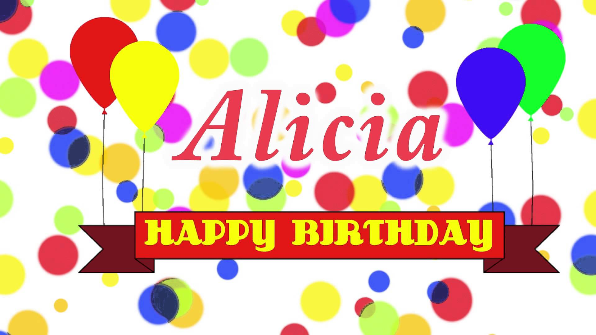 happy birthday alicia images ; maxresdefault