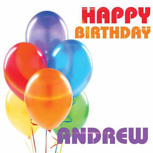 happy birthday andrew ; 500x500