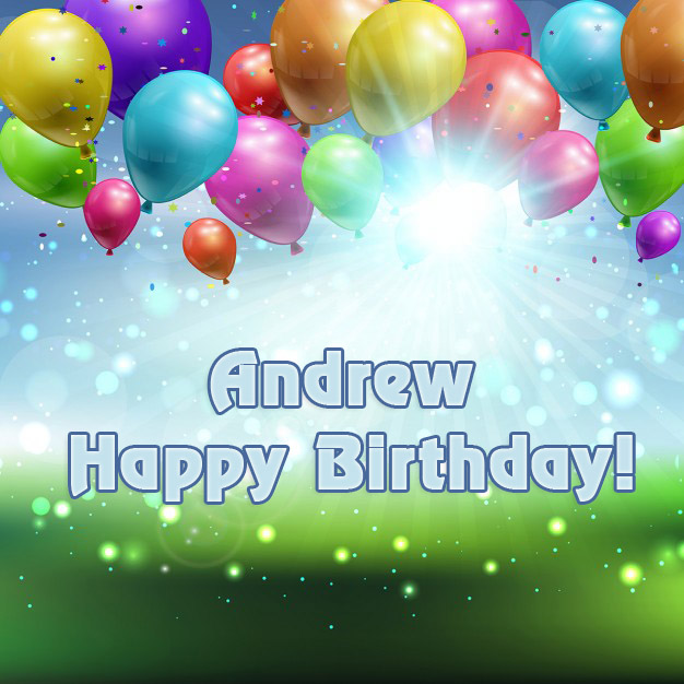 happy birthday andrew ; name_15207