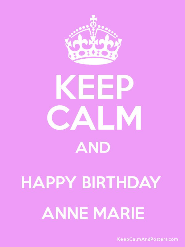 happy birthday anne marie ; 4222353
