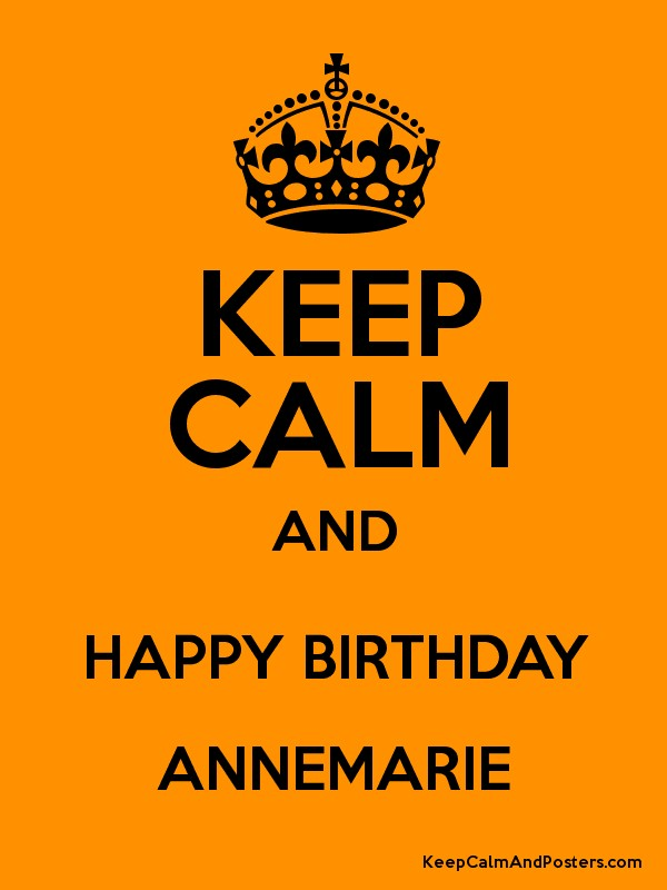 happy birthday anne marie ; 6918161