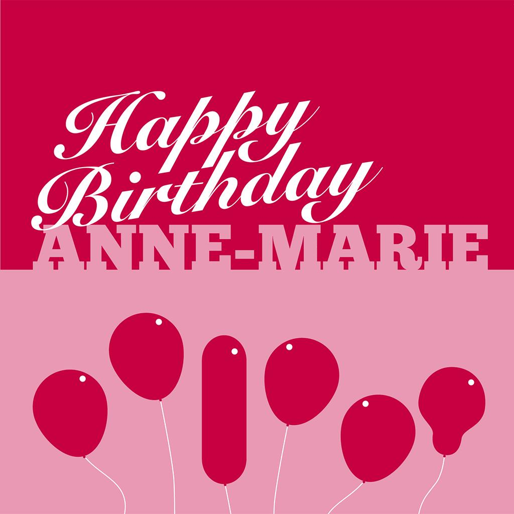 happy birthday anne marie ; anne-marie-birthday-front