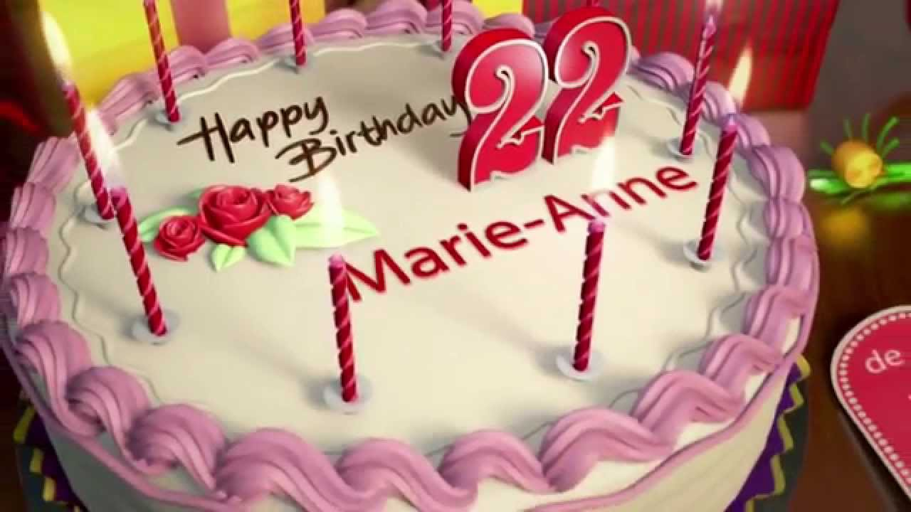 happy birthday anne marie ; maxresdefault-1