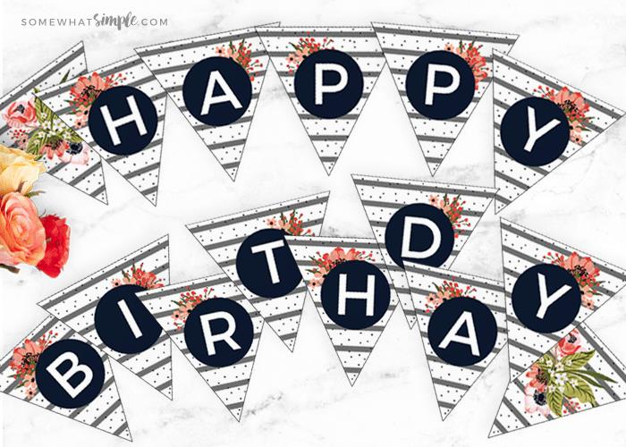 happy birthday banner individual letters ; floral-birthday-bunting-main