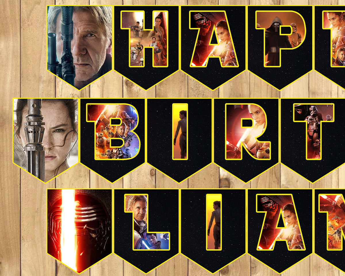 happy birthday banner individual letters ; il_fullxfull