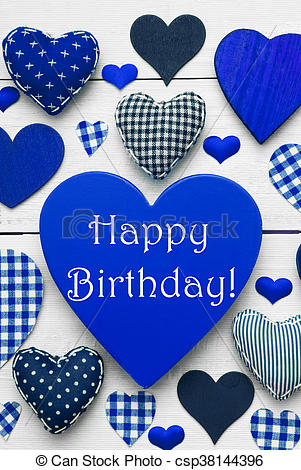 happy birthday blue images ; vertical-card-with-blue-heart-texture-stock-photograph_csp38144396