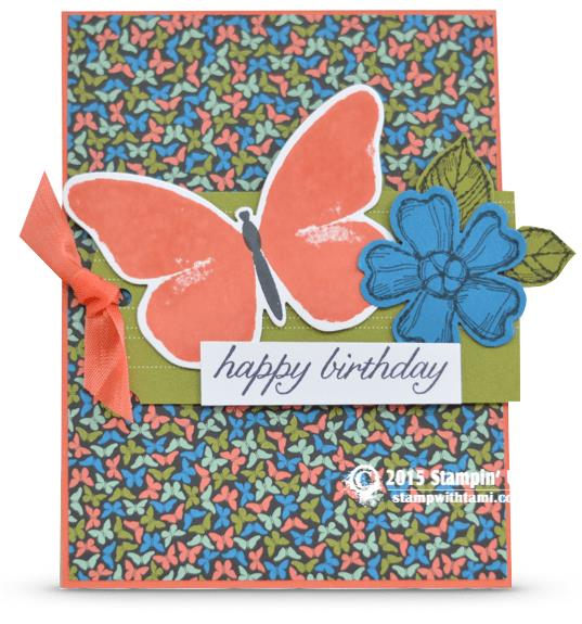 happy birthday butterfly card ; stampin-up-birthday-blossoms-card-butterfly-birthday