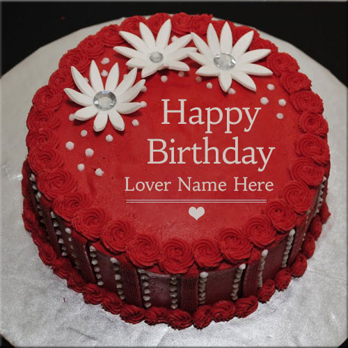 happy birthday cake with edit name ; 98b64df41477247632106a74eb3d32e8