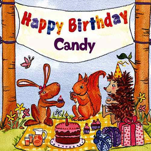 happy birthday candy ; 500x500