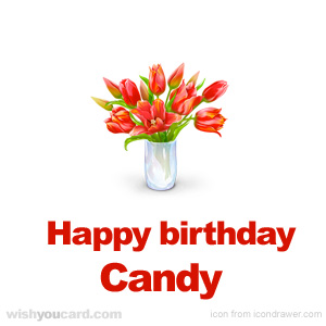 happy birthday candy ; Candy