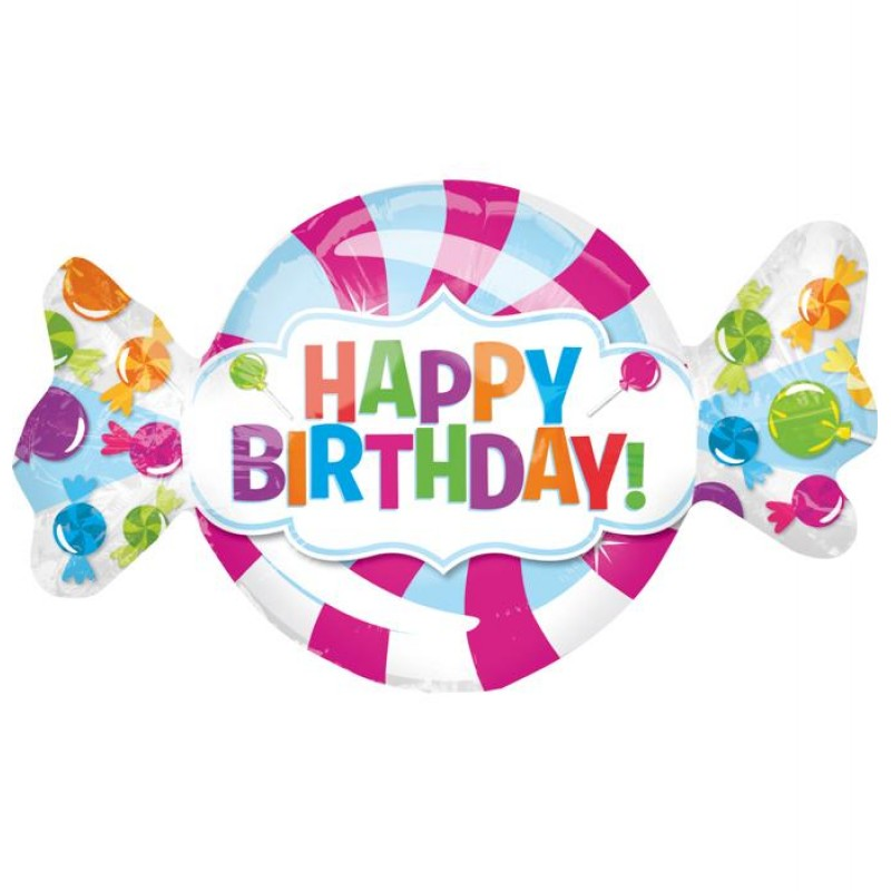 happy birthday candy ; cattex-happy-birthday-caramella-xl-r-supershapes-tm-43-2819-800x800