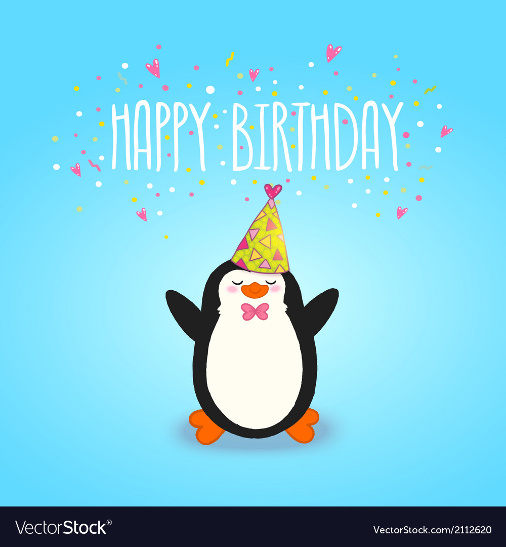 happy birthday card com ; happy-birthday-card-background-with-cute-penguin-vector-2112620