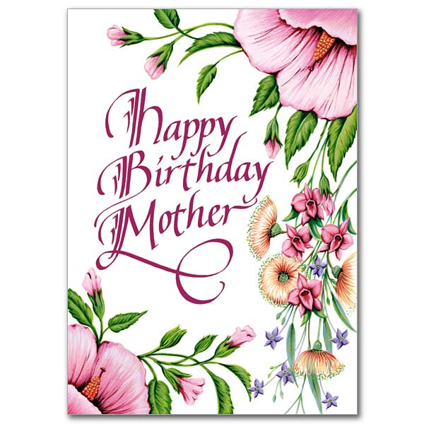 happy birthday card for mother ; CB1474