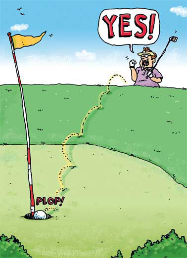 happy birthday card golf ; low_Chip%2520In_cover