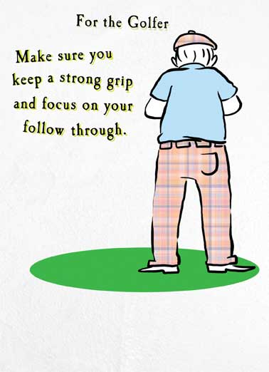 happy birthday card golf ; low_Strong%2520Grip_cover
