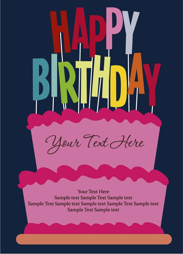 happy birthday card photoshop ; 10111