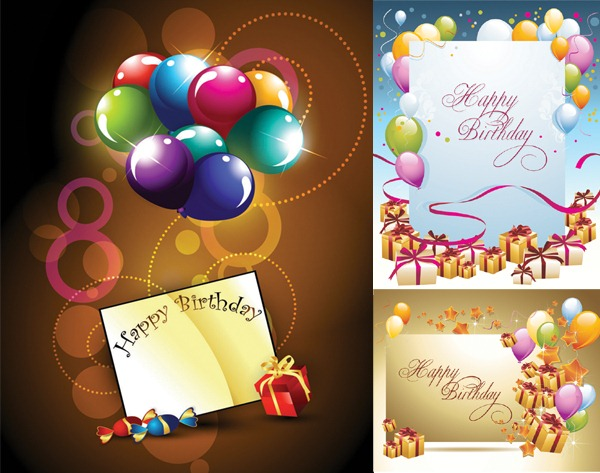 happy birthday card photoshop ; 1122