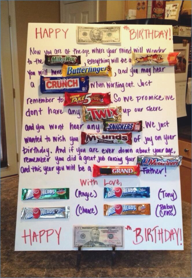 happy birthday card using candy bars ; 50th-birthday-candy-card-of-poster-board-birthday-card-ideas