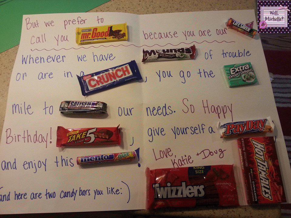 happy birthday card using candy bars ; Well-Mich-Fabulous-Candy-Bar-Birthday-Card