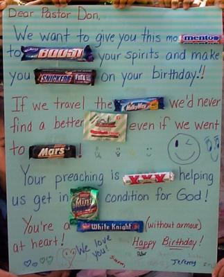 happy birthday card using candy bars ; candy-bar-card-for-pastor-don-21300254