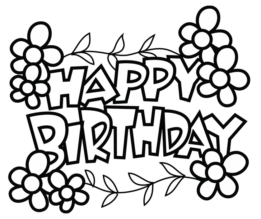 happy birthday cards to color and print ; birthday-coloring-pages-to-print-preschool-for-sweet-happy-cards-color-and-card-invitation-design-ideas