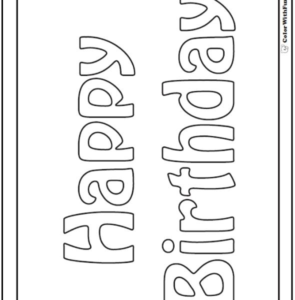 happy birthday cards to color and print ; happy-birthday-cards-color-and-print-55-birthday-coloring-pages-customizable-pdf-flowers-coloring-pages-590x600