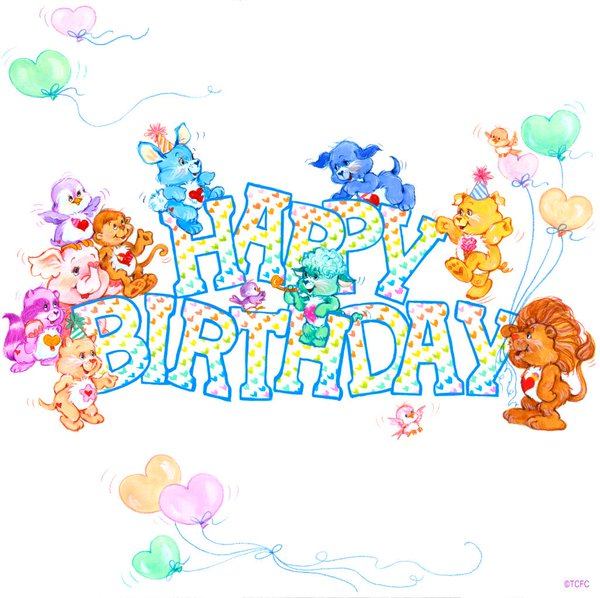 happy birthday care bear ; CIiGAItW8AAxkTV