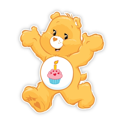 happy birthday care bear ; Happy-Birthday-Care-Bear-_-Care-Bears-Wall-Graphics-from-Walls-360_-Birthday-Bear-Run