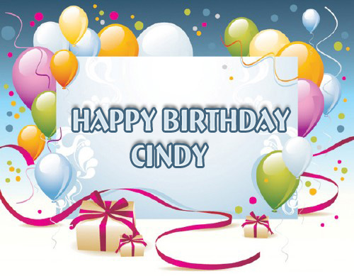 happy birthday cindy images ; name_14687